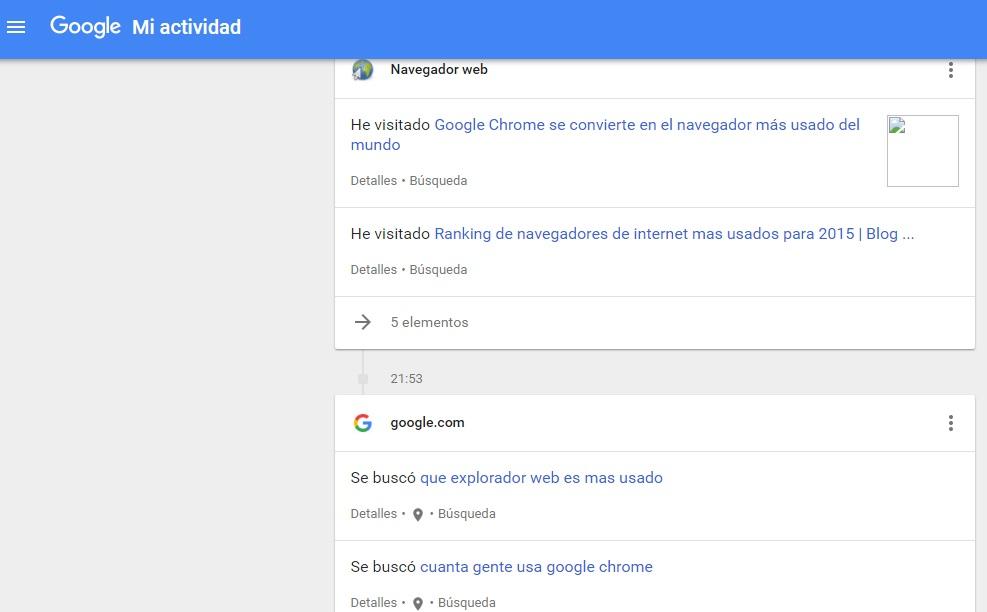 google activity 2