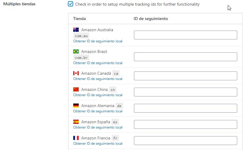 amazon afiliados en varios paises