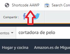 atajo shortcode aawp
