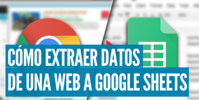 como extraer datos de una web a google sheets