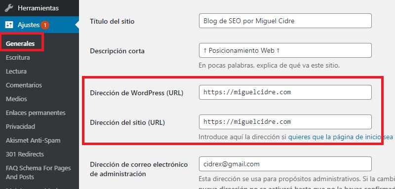 configuracion wordpress ssl