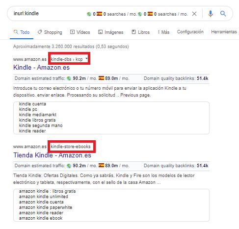 footprint inurl google