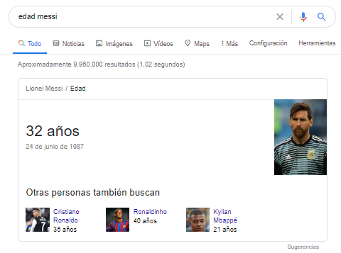 fragmento destacado edad messi