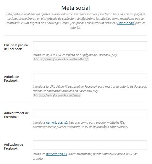 meta social rank math
