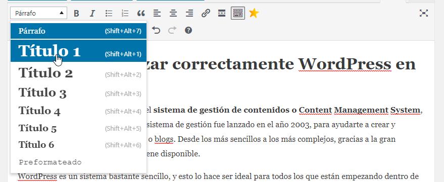 modificar encabezados wordpress