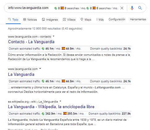 operador google info