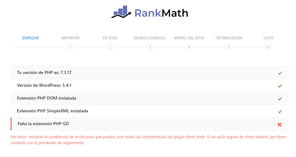 rank math extensiones php