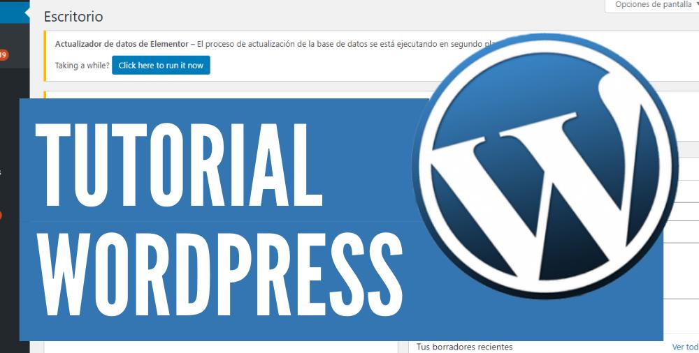 tutorial completo de wordpress